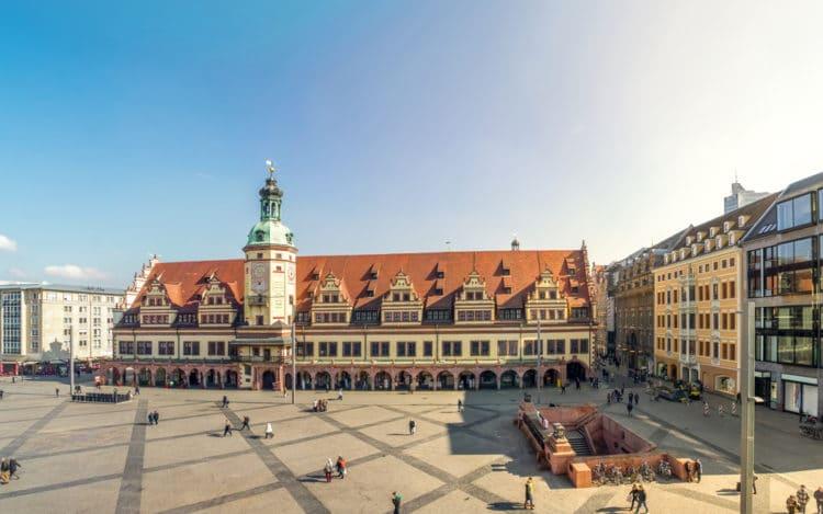 Старая ратуша - достопримечательности Лейпцига