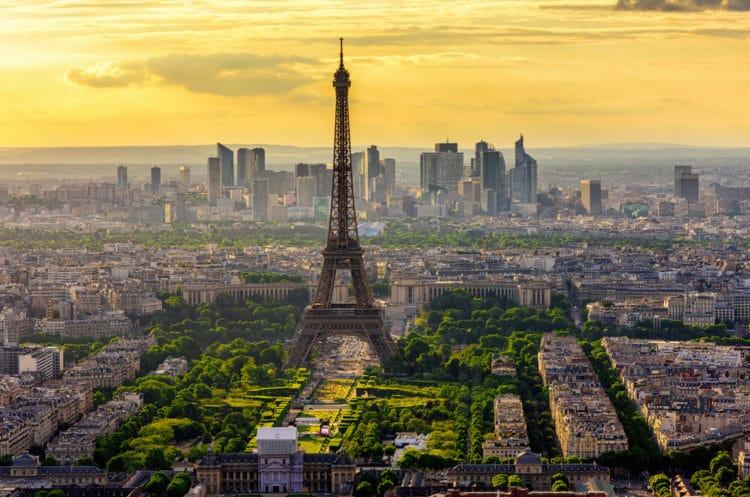 Самые красивые города Европы - Париж. Франция