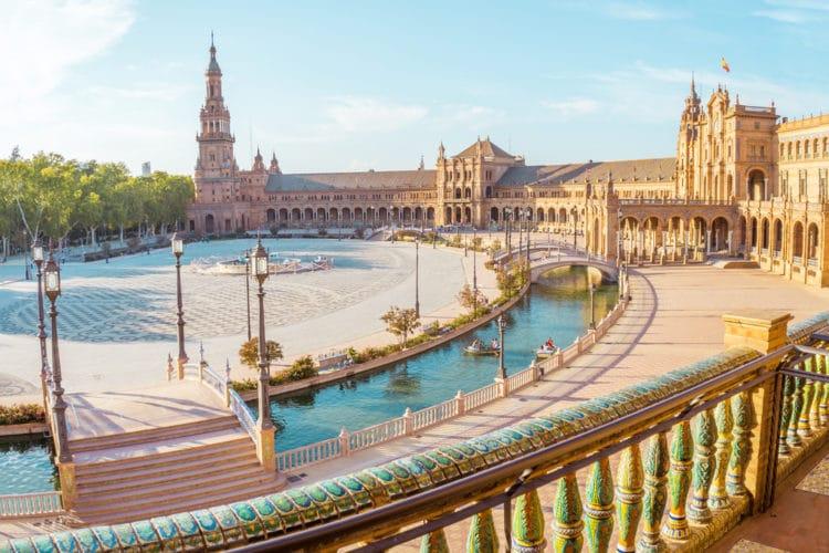 Площадь Испании - достопримечательности Севильи