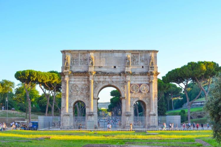 Арка Константина - достопримечательности Рима