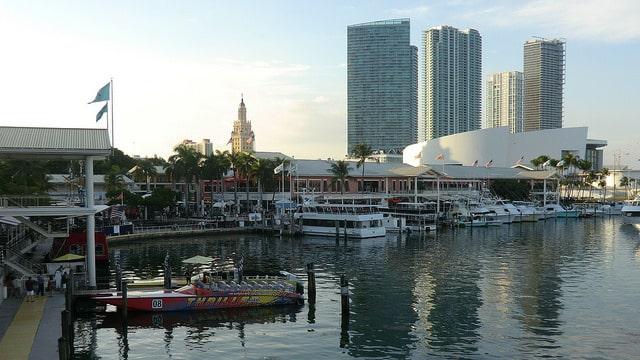 Рынок Бэйсайд - достопримечательности Майами