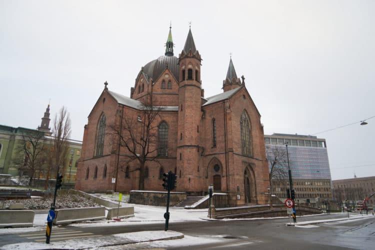 Церковь Святой Троицы - достопримечательности Осло