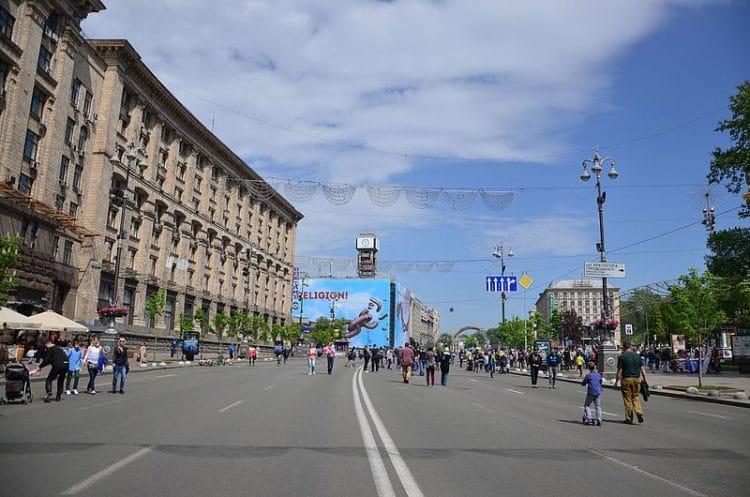 Улица Крещатик - достопримечательности Киева