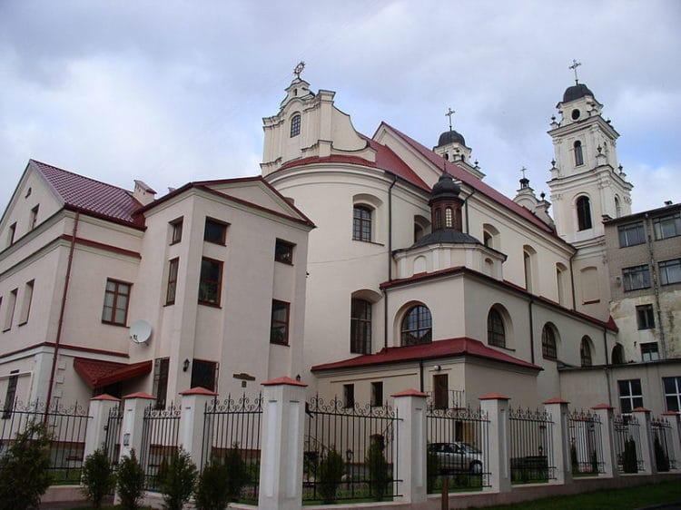 Собор Пресвятой Девы Марии - достопримечательности Минска