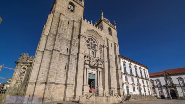 Кафедральный собор Порту - достопримечательности Порту