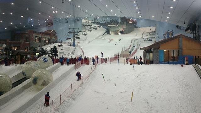Горнолыжный комплекс «Ski Dubai» - достопримечательности Дубая