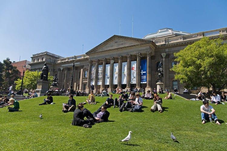 Государственная библиотека Виктории - достопримечательности Мельбурна