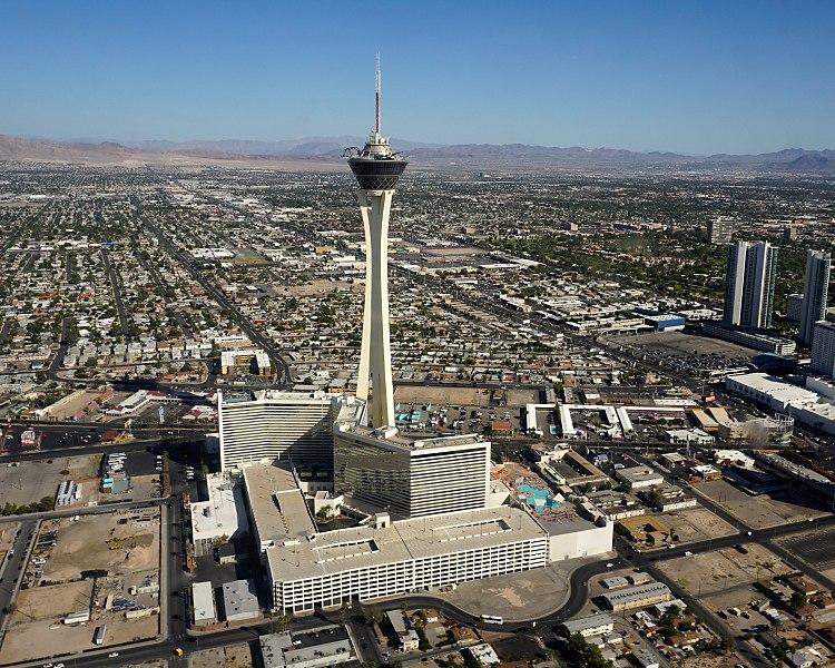 Стратосфера Лас-Вегас» - достопримечательности Лас-Вегаса