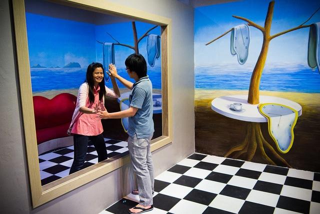3D галерея «Искусство в раю» - достопримечательности Паттайи