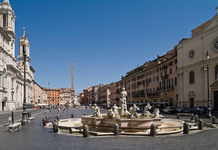Пьяцца Навона - достопримечательности Рима