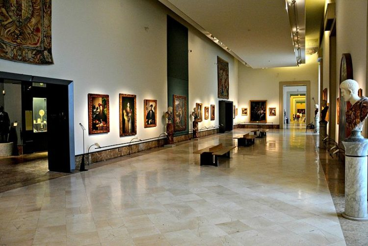 Музей Каподимонте - достопримечательности Неаполя