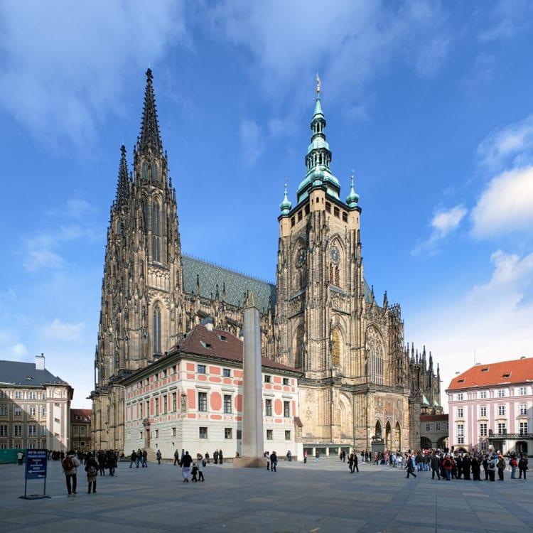 Собор Святого Вита - достопримечательности Праги