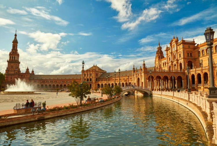 Самые красивые города Европы - Севилья. Испания