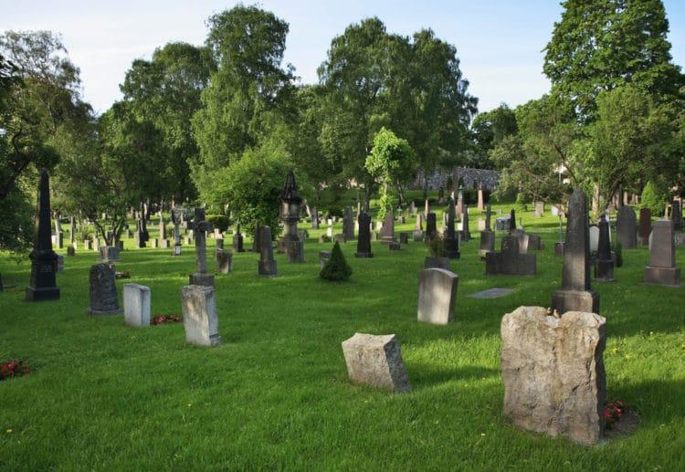 Спасское кладбище - достопримечательности Осло