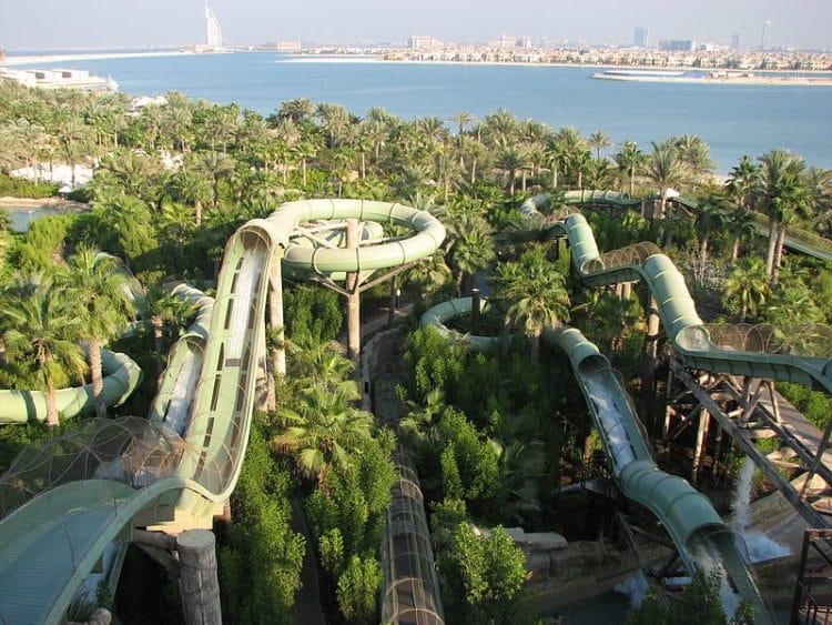 Аквапарк «Aquaventure» - достопримечательности Дубая