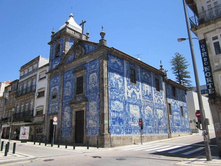 Капелла дас Алмас - достопримечательности Порту