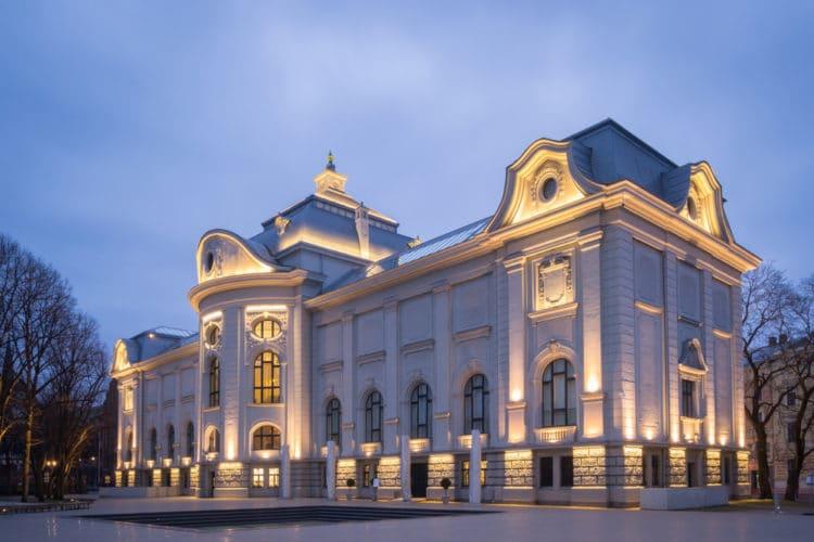 Художественный музей - достопримечательности Риги