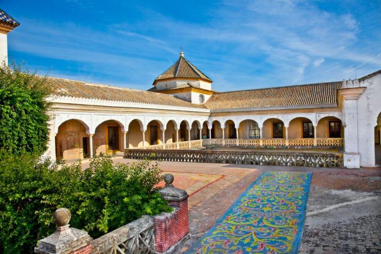 Дом Пилата - достопримечательности Севильи