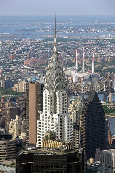 Крайслер-билдинг - достопримечательности Нью-Йорка