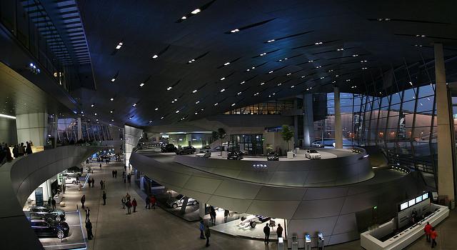 Музей BMW - достопримечательности Мюнхена