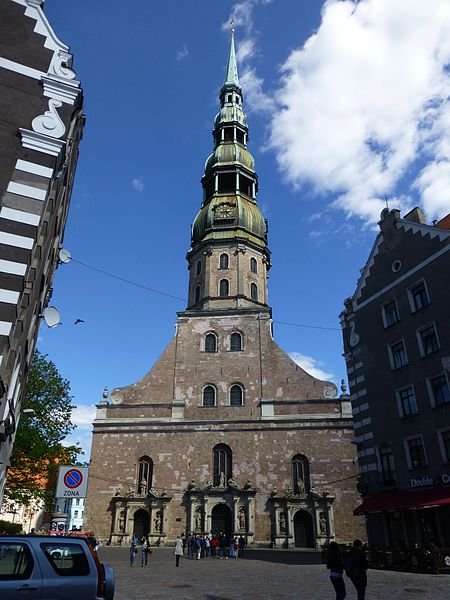 Церковь Святого Петра - достопримечательности Риги