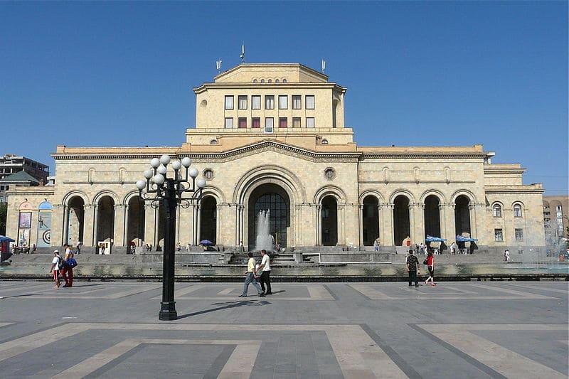Исторический музей и картинная галерея Армении - достопримечательности Еревана