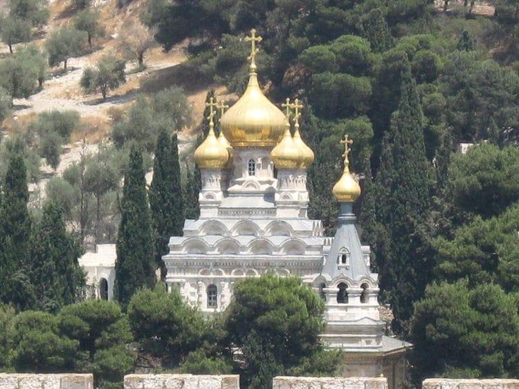 Церковь Святой Марии Магдалины - достопримечательности Иерусалима