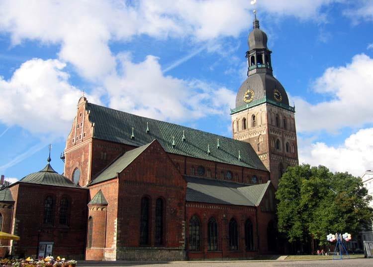 Домский собор - достопримечательности Риги