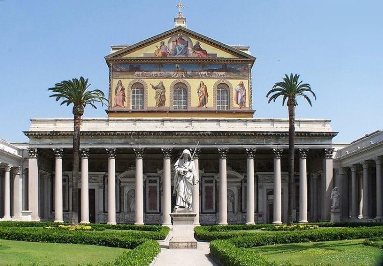 Сан-Паоло-фуори-ле-Мура - достопримечательности Рима