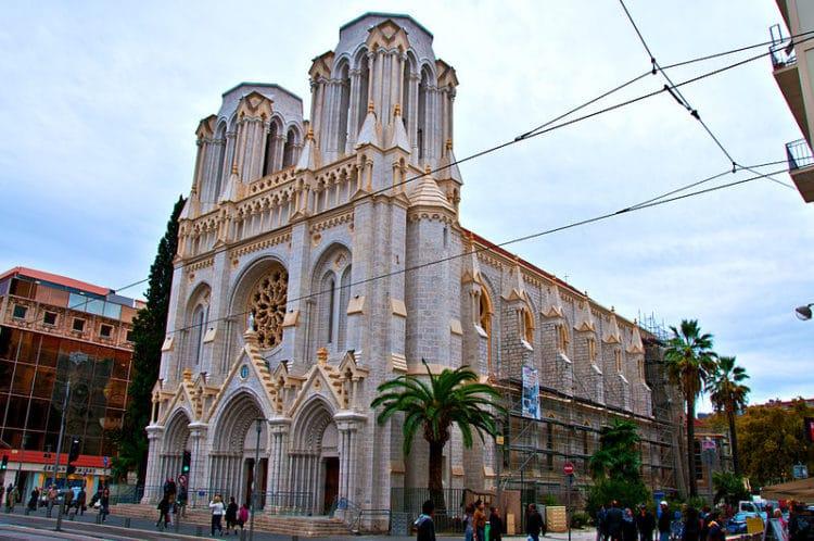 Базилика Нотр-Дам - достопримечательности Ниццы