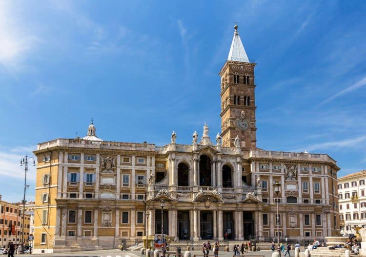 Санта Мария Маджоре - достопримечательности Рима
