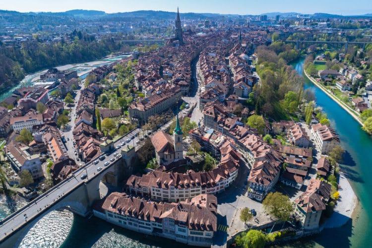 Самые красивые города Европы - город Берн. Швейцария