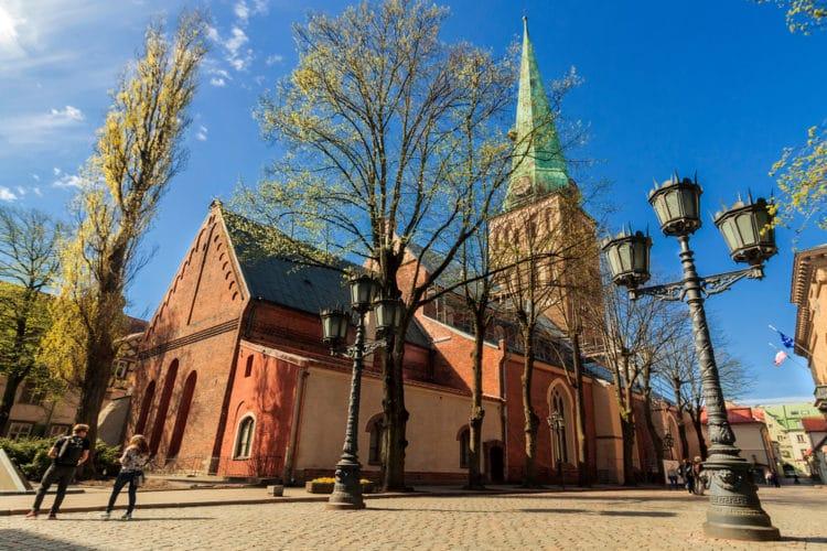 Кафедральный собор Святого Иакова - достопримечательности Риги