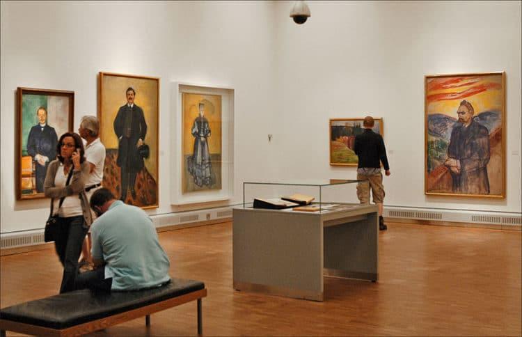 Музей Мунка - достопримечательности Осло