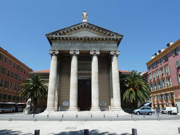 Церковь Нотр-Дам-дю-Порт - достопримечательности Ниццы