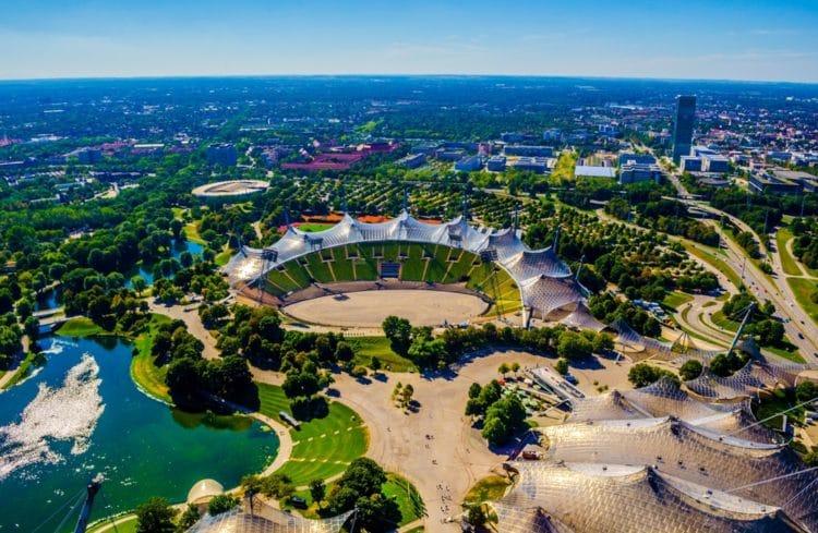 Олимпийский парк - достопримечательности Мюнхена