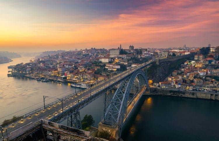 Мост Луиша I - достопримечательности Порту