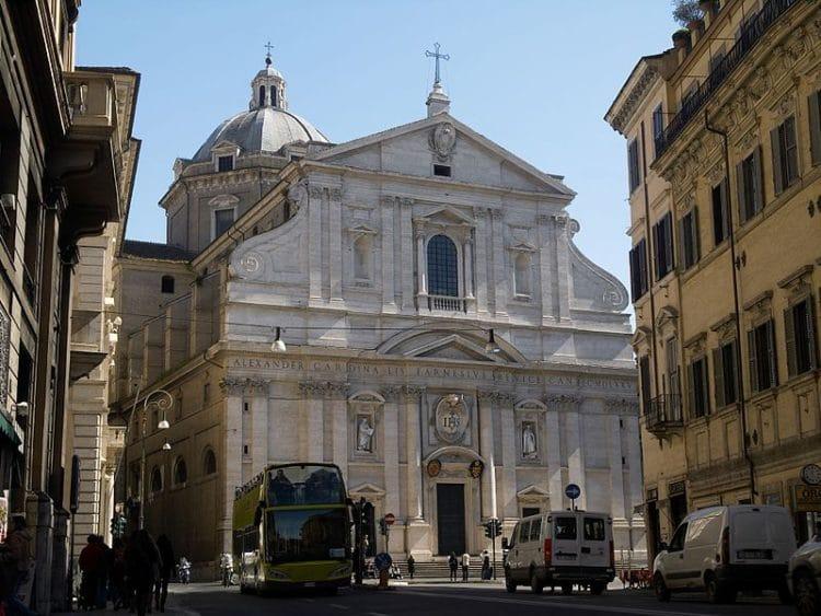 Церковь Иль-Джезу - достопримечательности Рима
