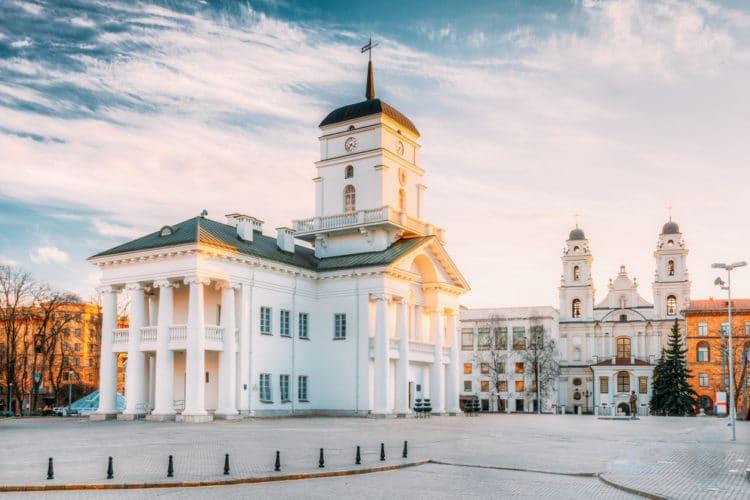 Минская городская ратуша - достопримечательности Минска