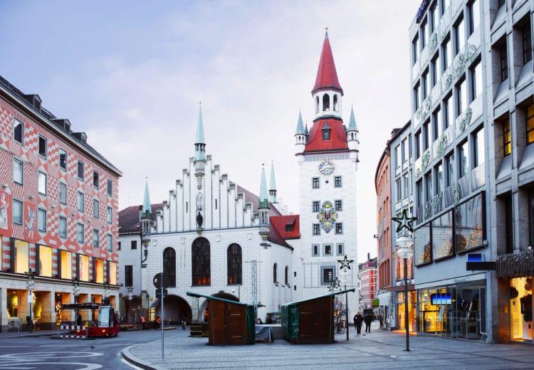 Старая ратуша - достопримечательности Мюнхена