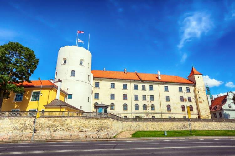 Рижский замок - достопримечательности Риги