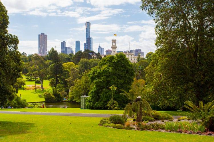 Королевские ботанические сады - достопримечательности Мельбурна