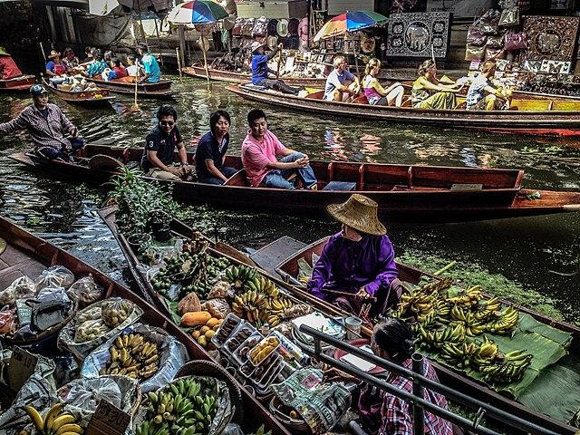 Плавучий рынок в Паттайе - достопримечательности Паттайи