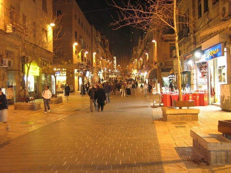 Улица Бен-Йехуда - достопримечательности Иерусалима