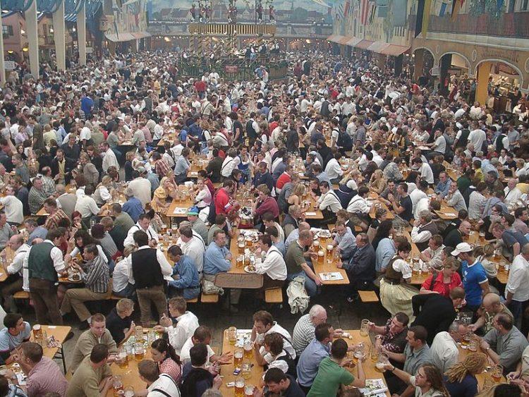 Фестиваль Октоберфест - достопримечательности Мюнхена