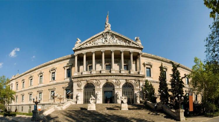 Национальная библиотека Испании 0 достопримечательности Мадрида