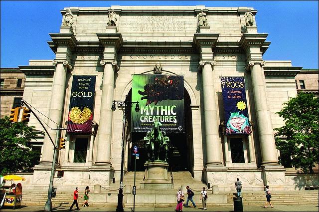 Американский музей естественной истории - достопримечательности Нью-Йорка