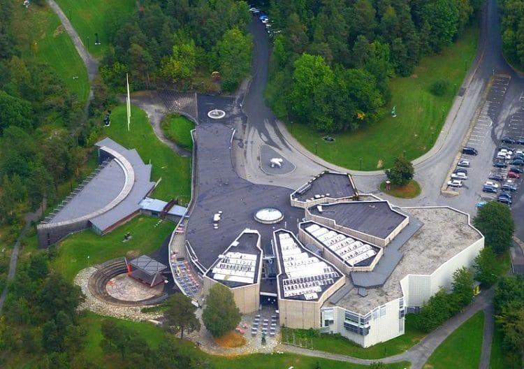 Центр искусств Хени-Унстад - достопримечательности Осло