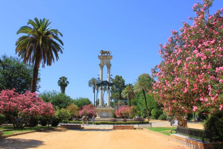 Сады Мурильо - достопримечательности Севильи