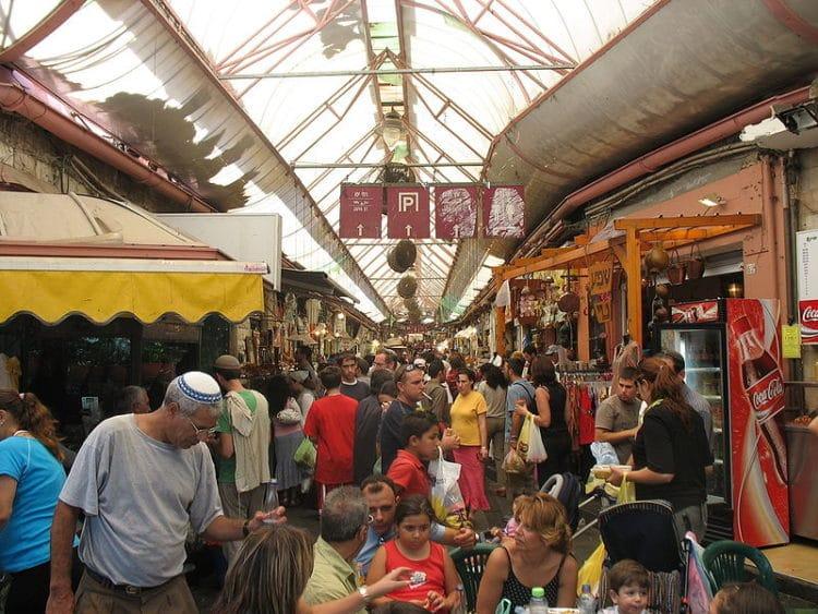Рынок Махане Иегуда - достопримечательности Иерусалима